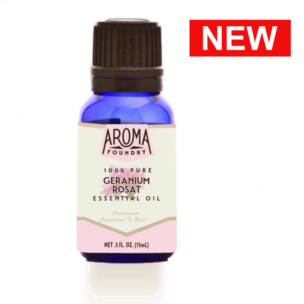 Geranium Rosat (Rose) Essential Oil