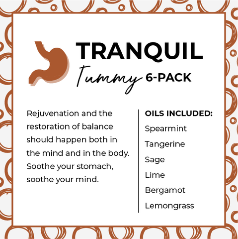 Tranquil Tummy Essential Oil 6-Pack