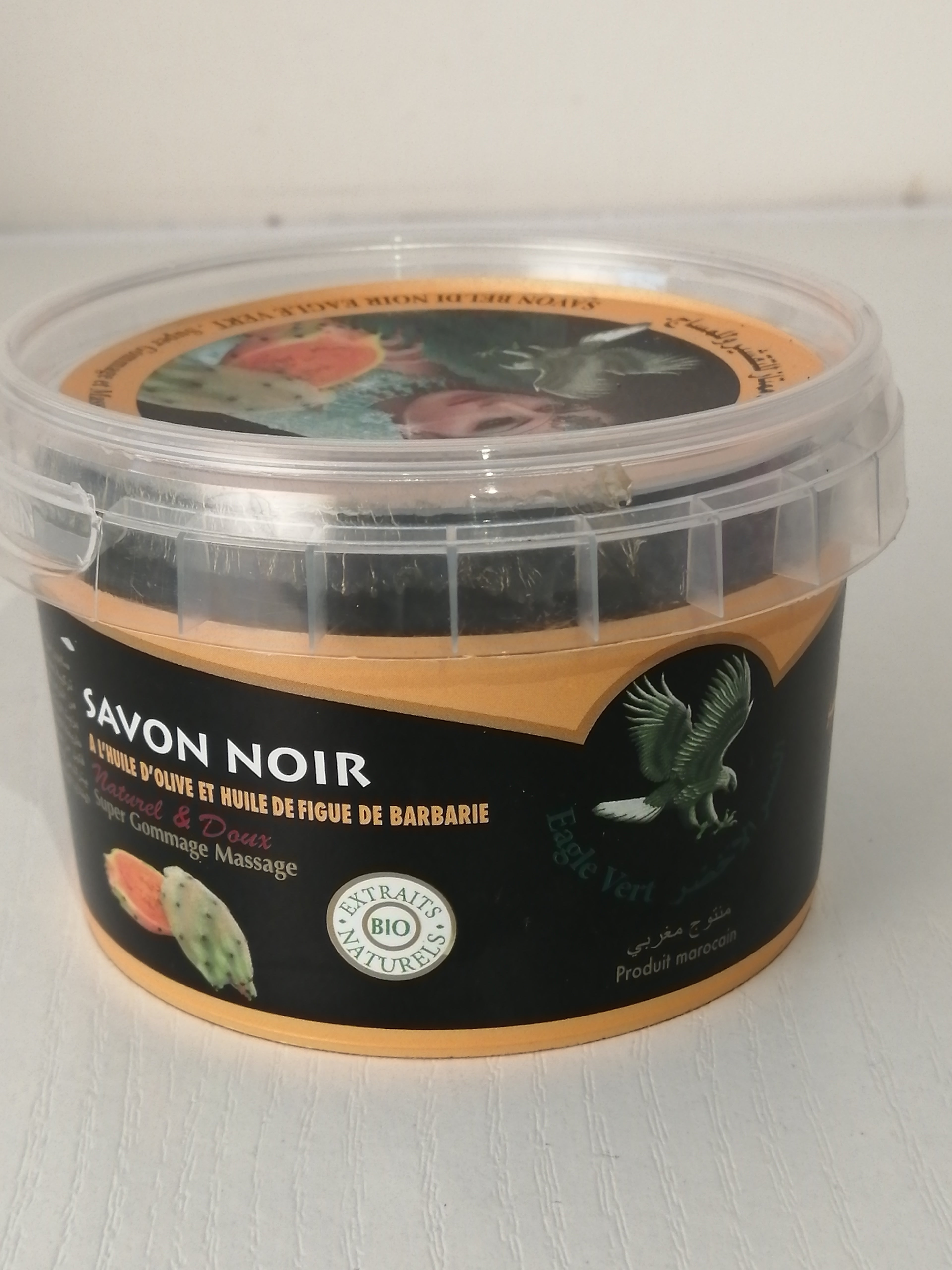 Savon noir figue de barbarie