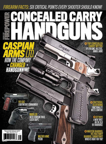 Conceal Carry Handguns Winter 2016