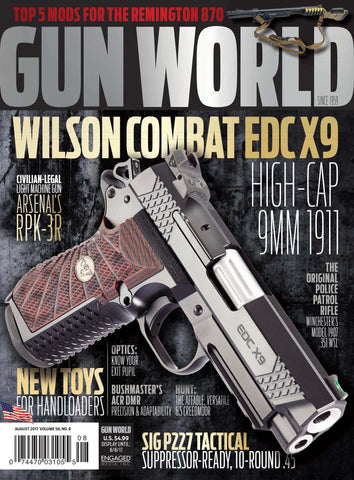 Gun World August 2017