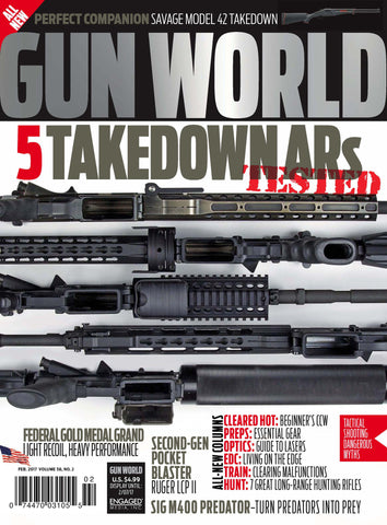 Gun World February 2017