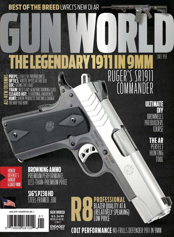 Gun World January 2017