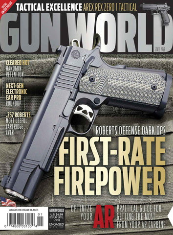 Gun World January 2018