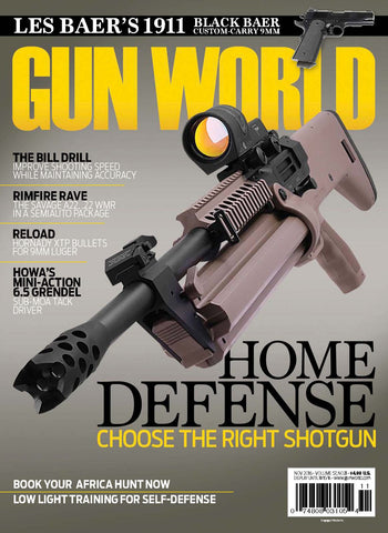 Gun World November 2016