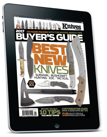 Knives Buyer's Guide Jan/Feb 2017 Digital