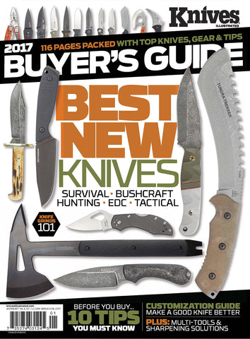 Knives Buyer's Guide Jan/Feb 2017