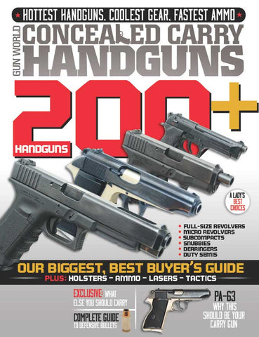 Concealed Carry Hand Guns - Summer 2013
