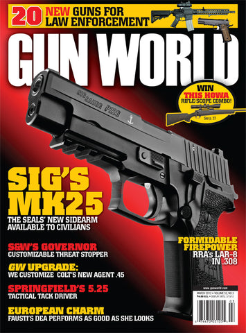 Gun World March 2012