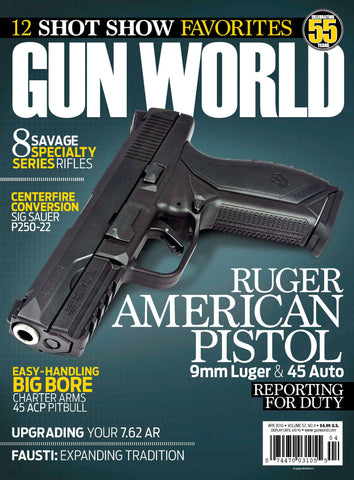 Gun World April 2016