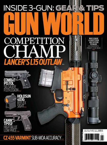 Gun World July 2016
