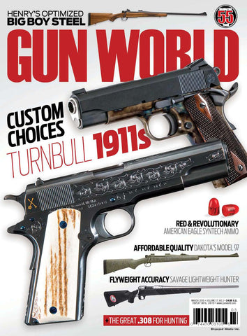 Gun World March 2016