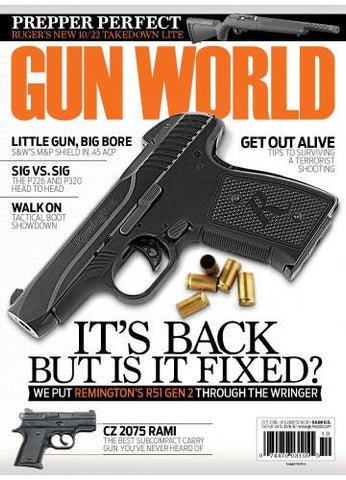 Gun World October 2016