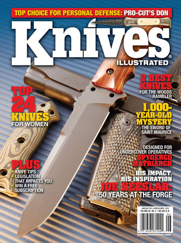 Knives Illustrated June/July 2012