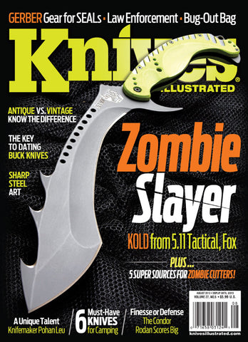Knives Illustrated August 2013