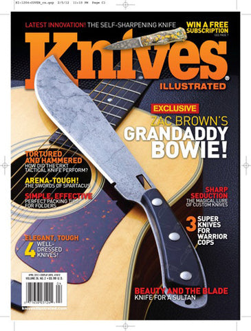 Knives Illustrated April 2012