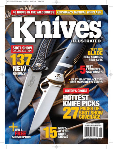 Knives Illustrated May 2012