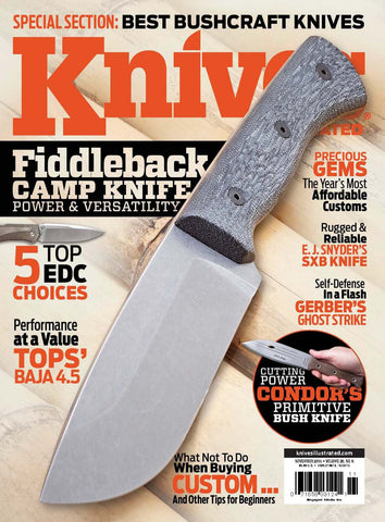 Knives Illustrated Nov 2015