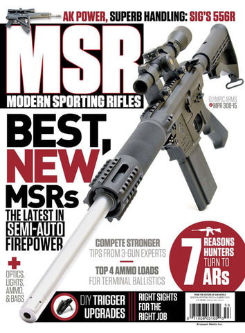 Modern Sporting Rifle Summer 2015
