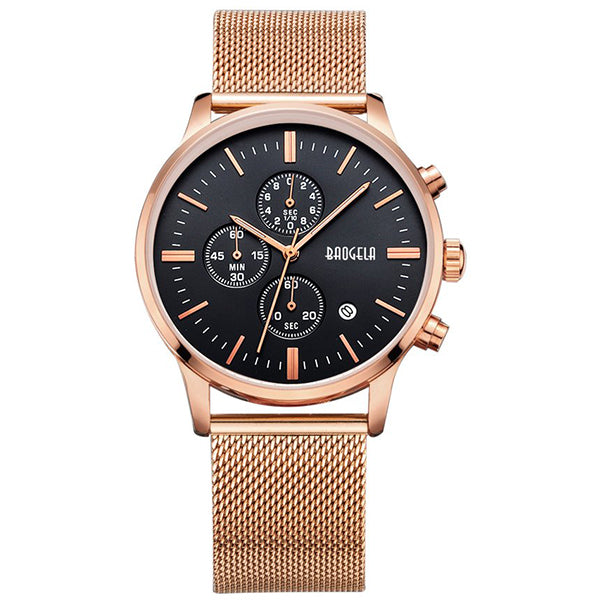 Stelvio - Black Rose Gold