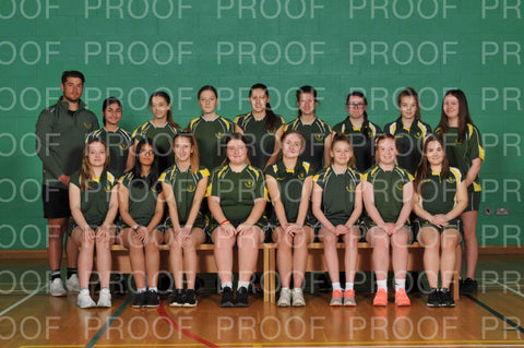 County Girls Squad Photographs 2020