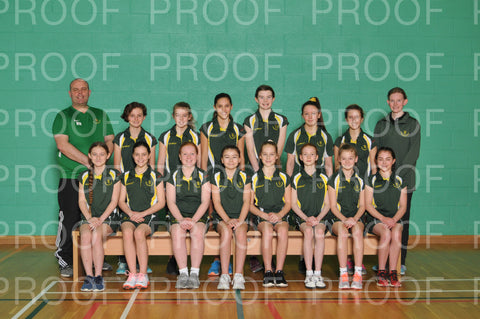 County Girls Squad Photographs 2019