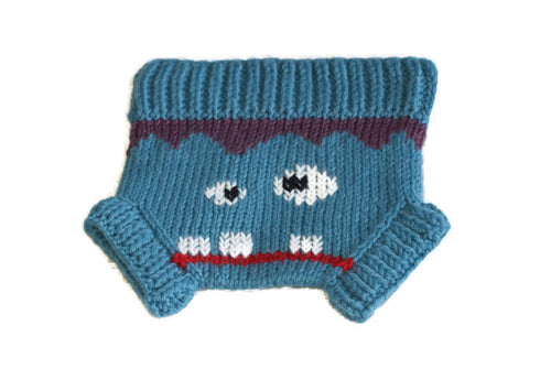 Frankie Monster Pants Knitting Pattern