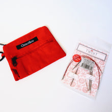Load image into Gallery viewer, ChiaoGoo Red Pocket Pouch - Natural Fibre Arts