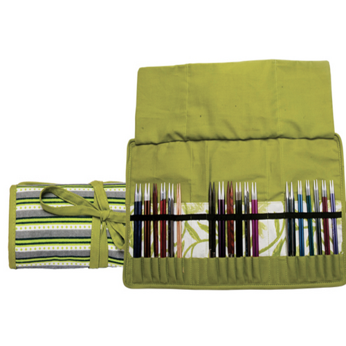 Knitpro Interchangeable Needle Case Greenery - Natural Fibre Arts