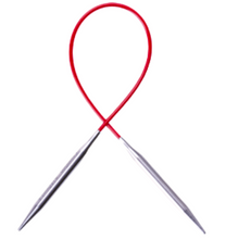 "Load image into Gallery viewer, Chiaogoo RED 9"" & 12"" Circular Needles - Natural Fibre Arts"