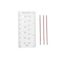Load image into Gallery viewer, ChiaoGoo Twist Red Interchangeable Needle Cables - Natural Fibre Arts