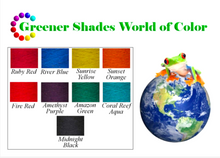Load image into Gallery viewer, Greener Shades Teaspoon Equivalent Chart