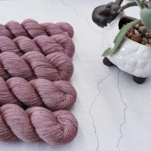 Rose Merino Silk Yak