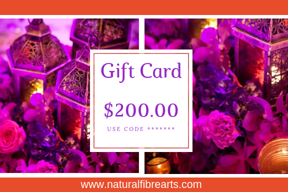 $200 Gift Card - Natural Fibre Arts