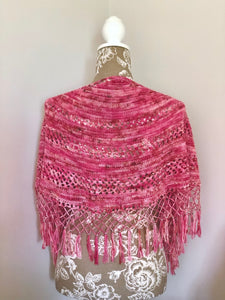 Paradise Shawl Pattern - Natural Fibre Arts