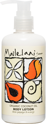 Body Lotion - Fresh Papaya & Mango (300ml) - Premium Pacific