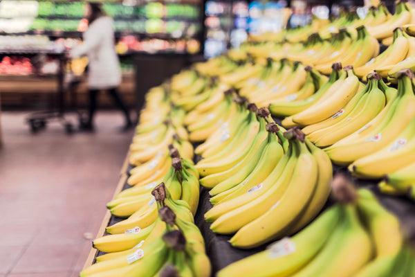 Ethical shopping Bananas