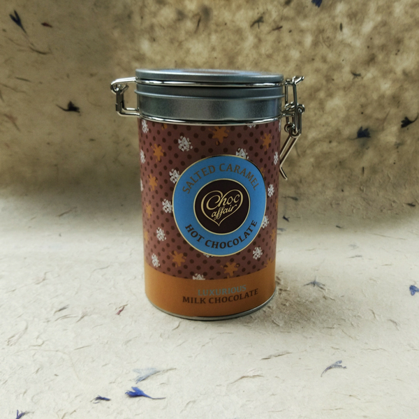 salted caramel hot chocolate Organise your home