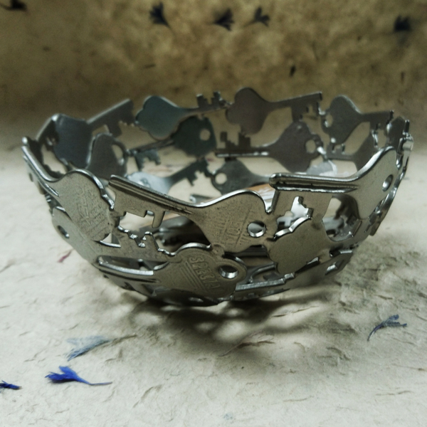 Silver Key Bowl Organise your home