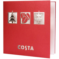 Costa Coffee Bespoke Design Christmas Card