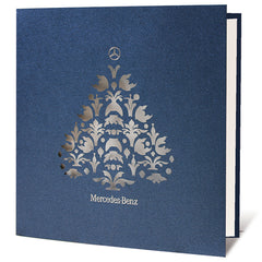 Mercedes Benz Bespoke Design Christmas Card