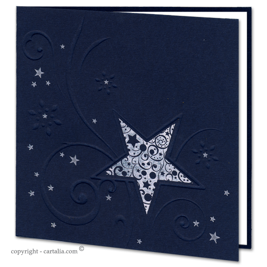 Navy Blue Star