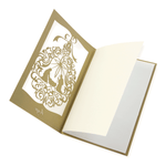 Gold Laser Cut Religious Card