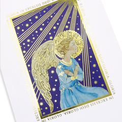 Gold Foil Angel