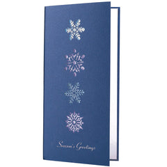 Navy Blue Seasons Greetings