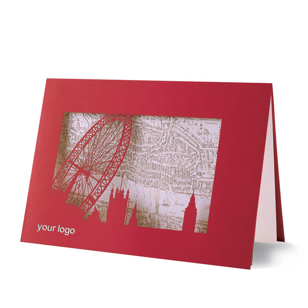 London Laser Cut Card