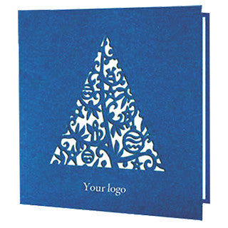 Navy Blue Textured Card