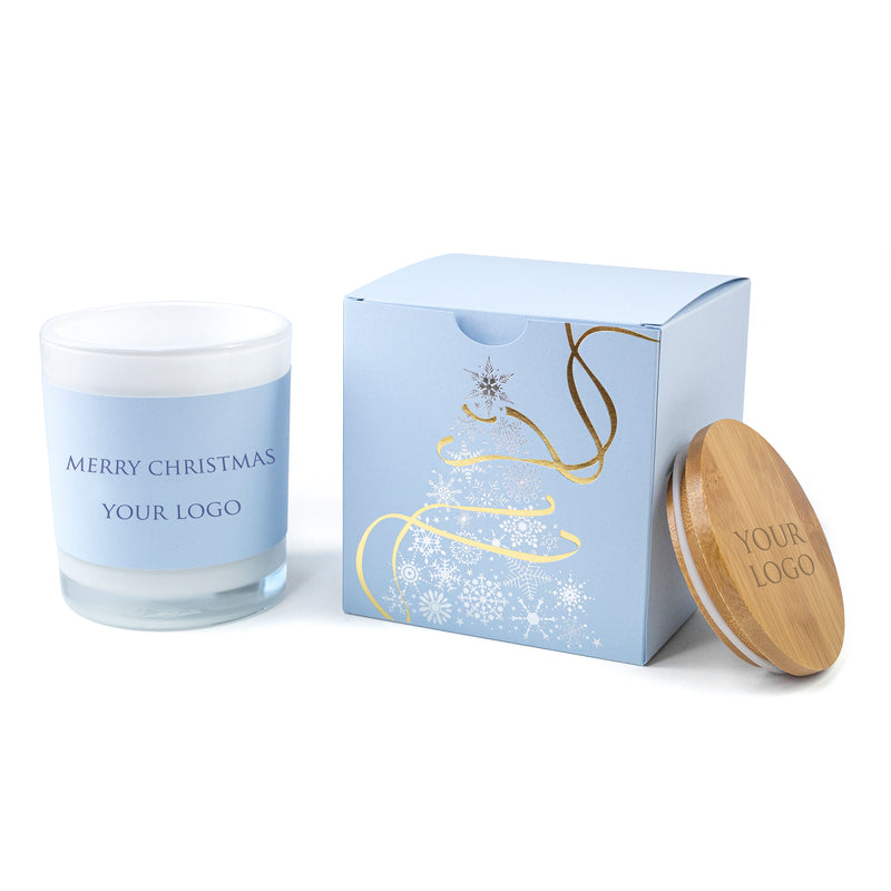 Corporate Hamper Gifts: Elegant Boxed Candles Christmas Tree