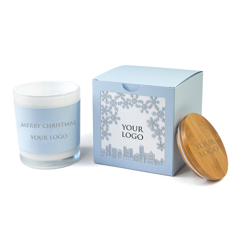 Corporate Christmas Gifts for Employees - Custom Boxed Candles