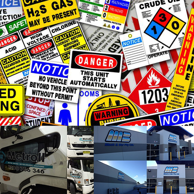 Safety Signs, Truck & Building Signage